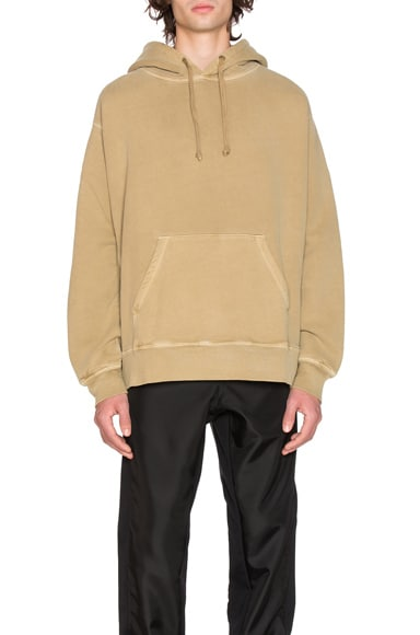 YEEZY Season 3 Relaxed Fit Hoodie in Military Dust