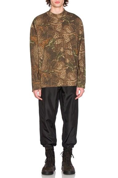 Moto Long Sleeve Sweatshirt