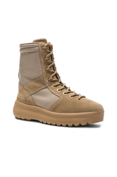 YEEZY Season 3 Military Boots in Rock