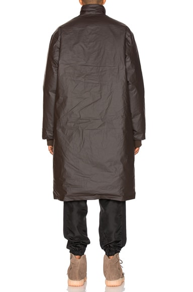 Waxed Cotton Down Fill Parka