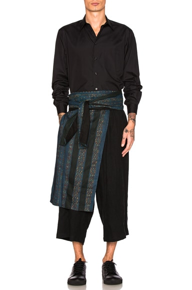 Waist Cloth Trousers