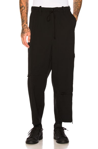 Cross Zip Trousers