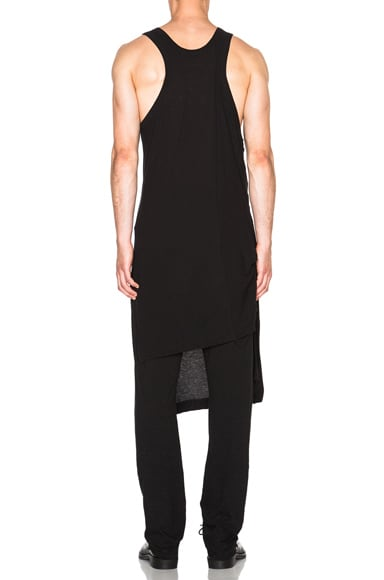 Supima Silk Asymmetrical Tank