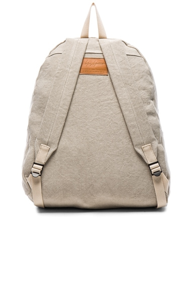 Washed Linen Backpack