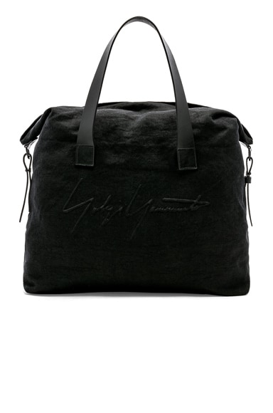 Embossed Canvas Tote