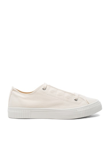 Canvas Fly Lowcut Sneakers