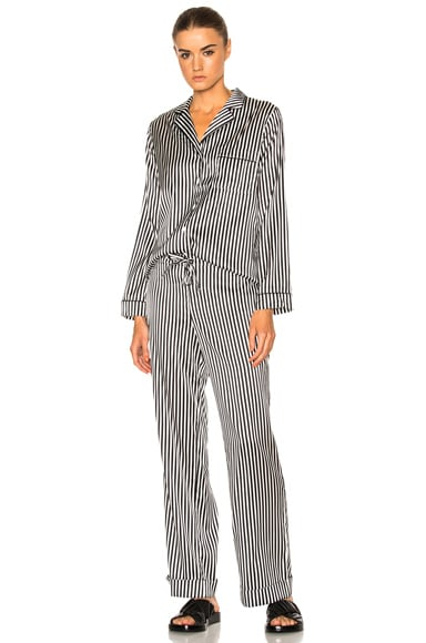 YOLKE Stripes Classic Set in Black & White