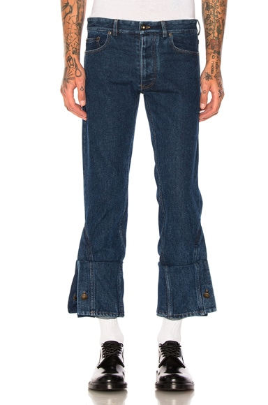 Y Project Jeans in Navy