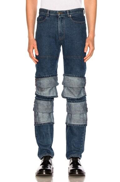 Triple Cuff Jeans