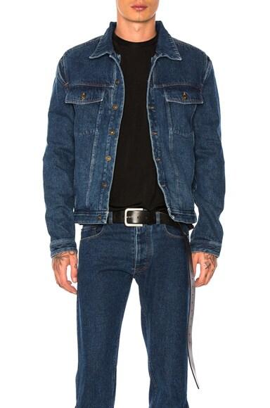 Y Project Denim Jacket in Navy