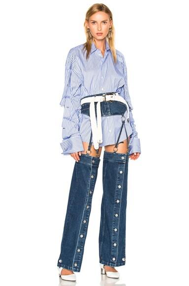 Detachable Button Down Pants