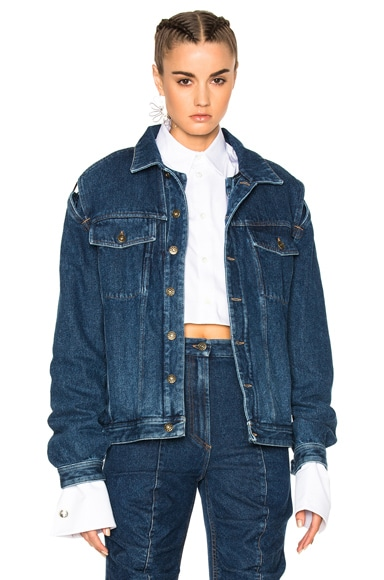 Y Project Jacket in Navy