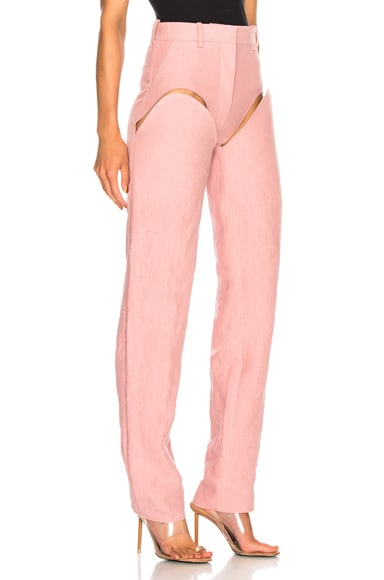 Front Cut Tailored Pant