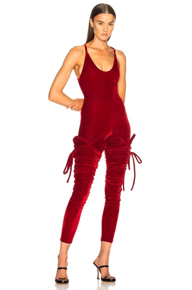 for FWRD Velvet Jumpsuit