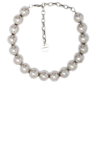 Zimmermann Metal Bead Necklace in Antique Silver