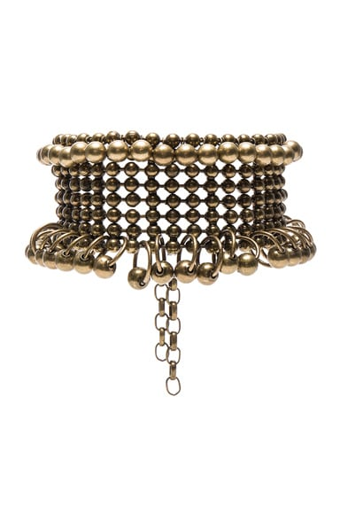 Zimmermann Metal Bead Collar in Antique Brass