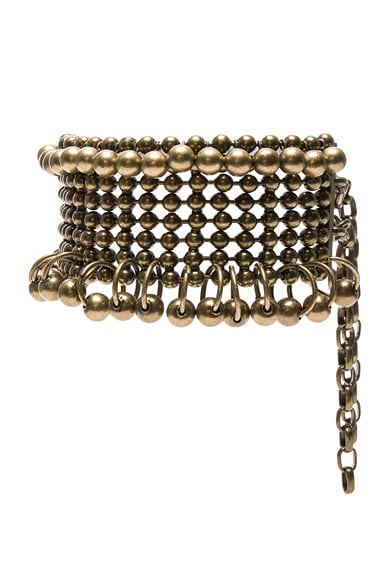 Metal Bead Collar