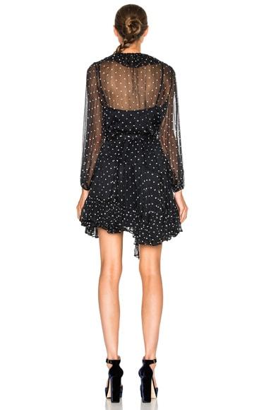 Adorn Ruffle Wrap Dress