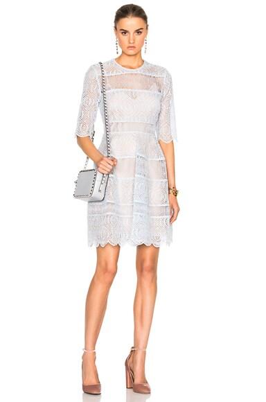 Zimmermann Adorn Mini Bell Dress in Jasmine