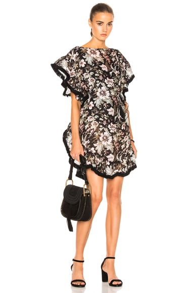 Zimmermann Gossamer Flutter Fringe Dress in Floral