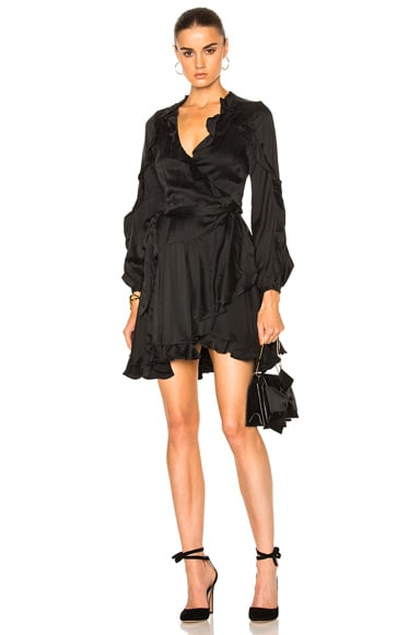 Winsome Flutter Robe Dress