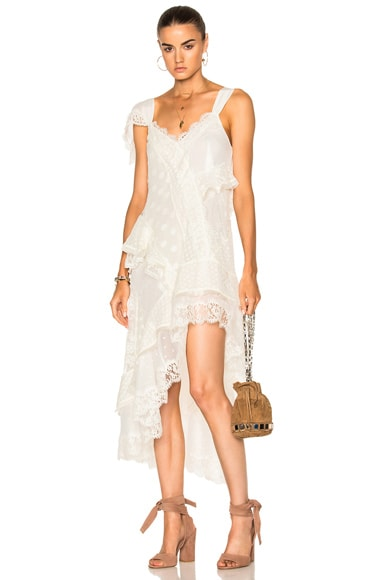 Zimmermann Bowerbird Lovers Chemise in Butter