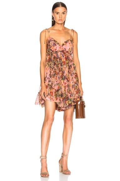 Lovelorn Frill Mini Dress