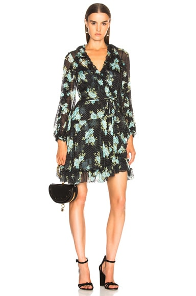 Breeze Ruffle Wrap Dress
