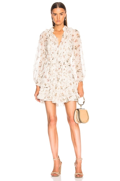Breeze Pintuck Mini Dress