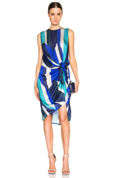 Esplanade Drape Dress