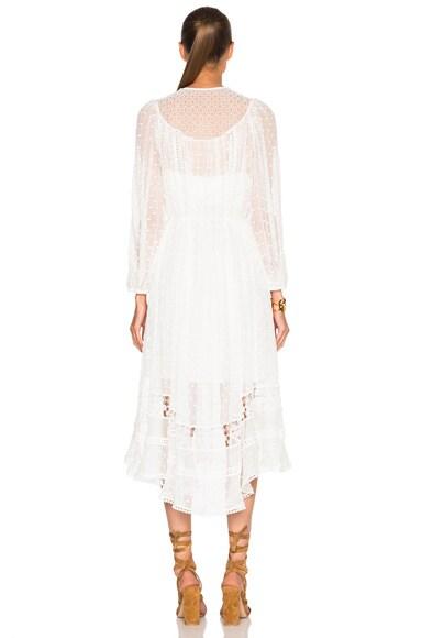 Belle Web Dot Dress