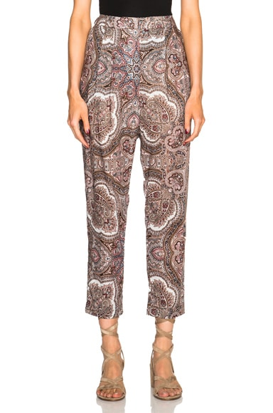 Zimmermann Epoque Track Pants in Paisley
