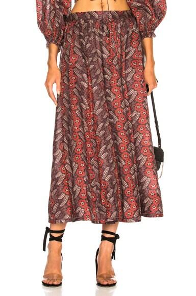Bayou Draw Flare Skirt