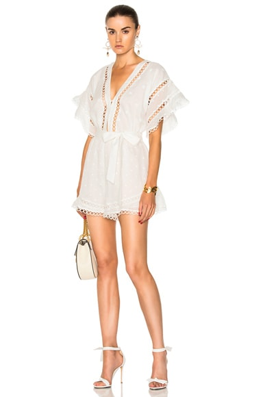 Jasper Dot Floating Playsuit