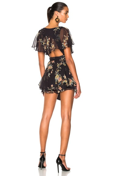 Maples Wrap Playsuit