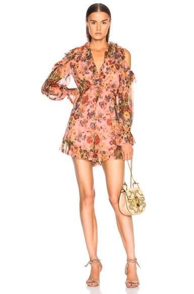 Lovelorn Frill Playsuit