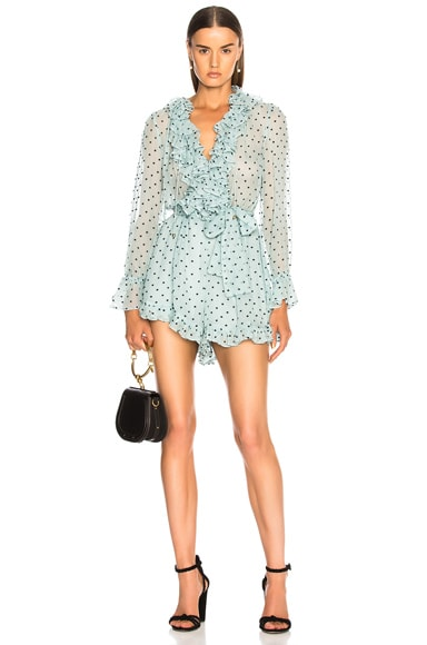 for FWRD Breeze Ruffle Playsuit