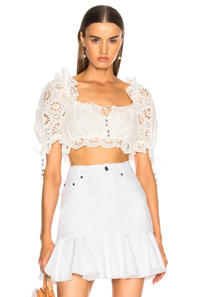 Lumino Daisy Bodice Top