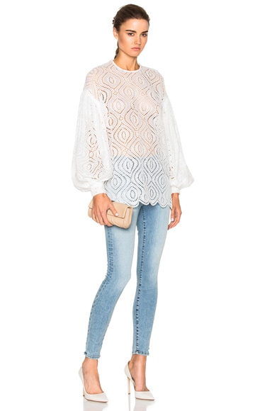 Karmic Embroidered Top