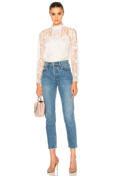 Winsome Breeze Lace Top