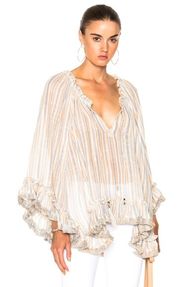Meridian Flared Frill Top