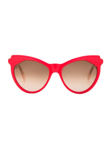Zanzan Erzulie Sunglasses in Hot Pink & Blush Rose