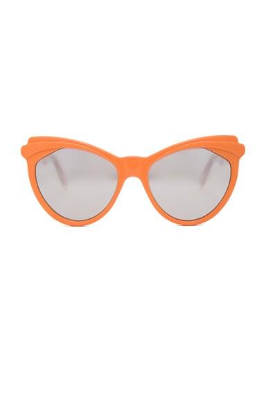 Zanzan Erzulie Sunglasses in Tangerine & Pink