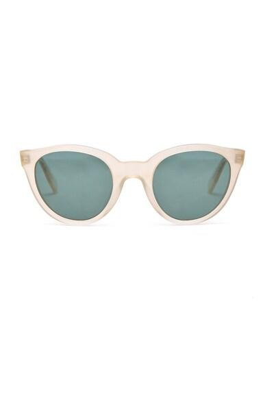 Zanzan Sunetra Sunglasses in Sand & Green