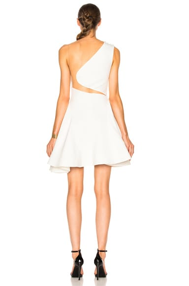 Cady Stretch Tulle Mini Dress