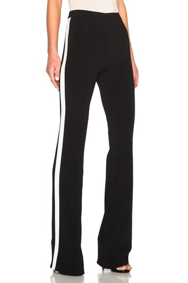 Zuhair Murad Stripe Pants in White & Black