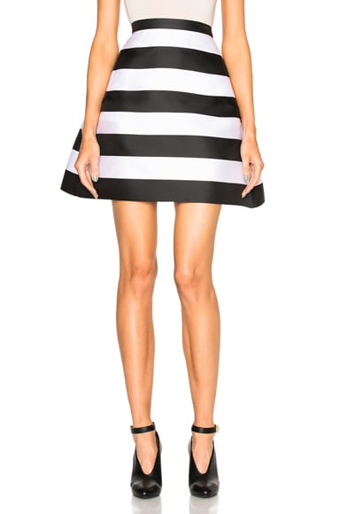 Stripe Scuba Skirt