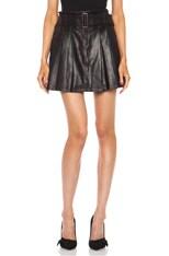 Camden Leather Skirt