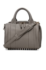 Rockie Satchel with Silver Hardware
