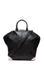 Emile Large Tote with Rose Gold